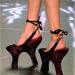 pantofi ciudati inalti